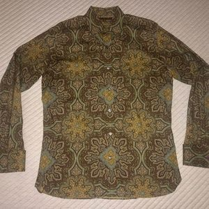 Ted Baker London Paisley Button Down Shirt